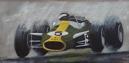 Jim Clark sur F1 Lotus 49 – 1967
