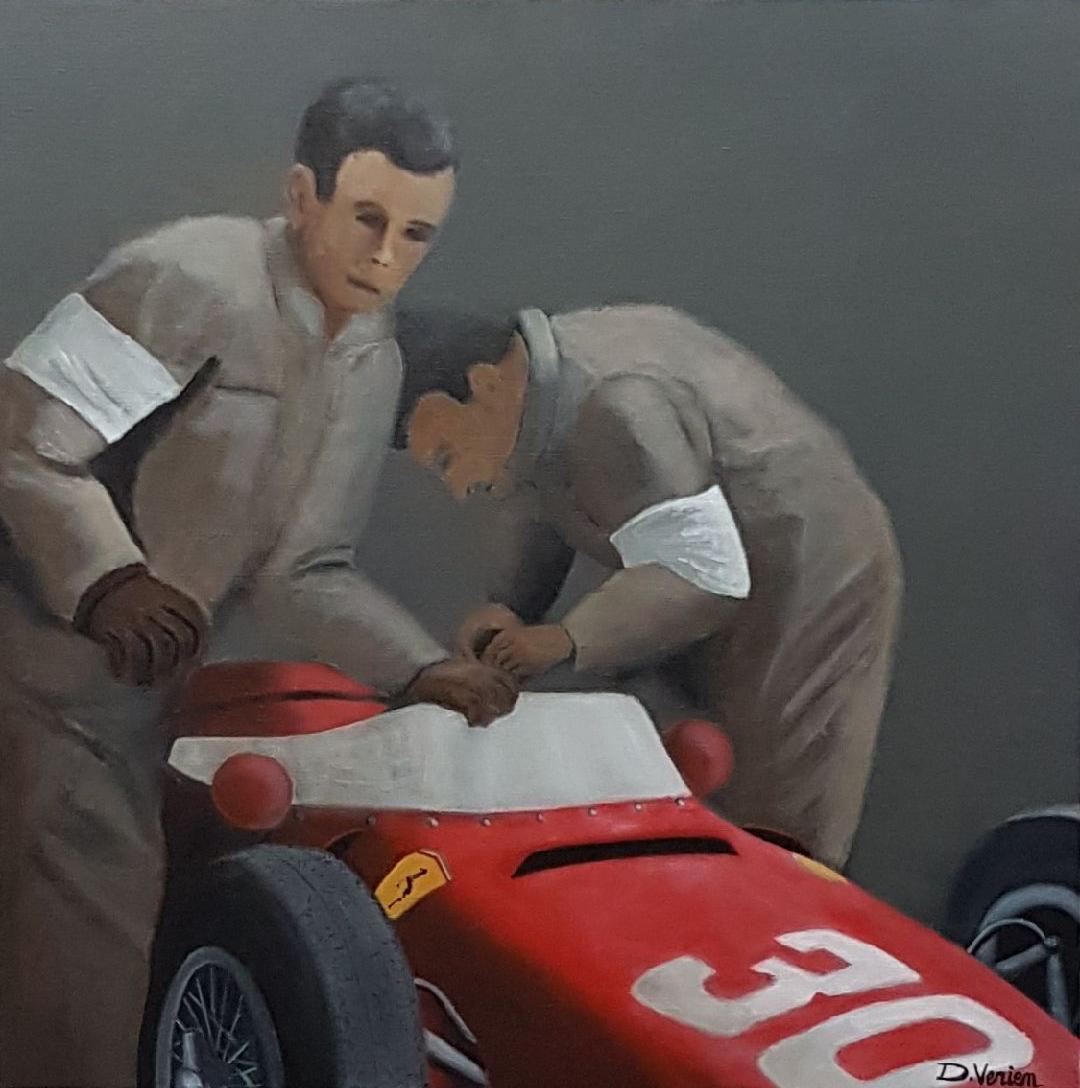 Ferrari Sharknose - 60x60