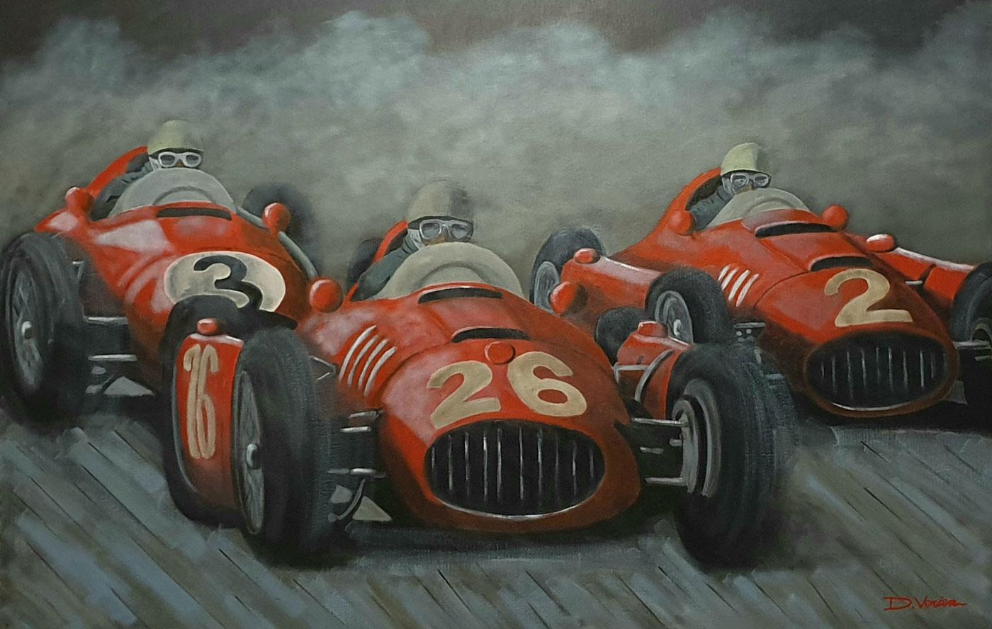 Ferrari D50 et Ferrari F500, 1958