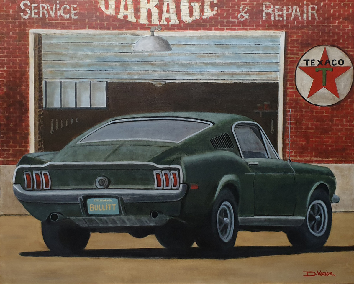 Ford Mustang GT390 Fastback Steeve McQueen Bullit