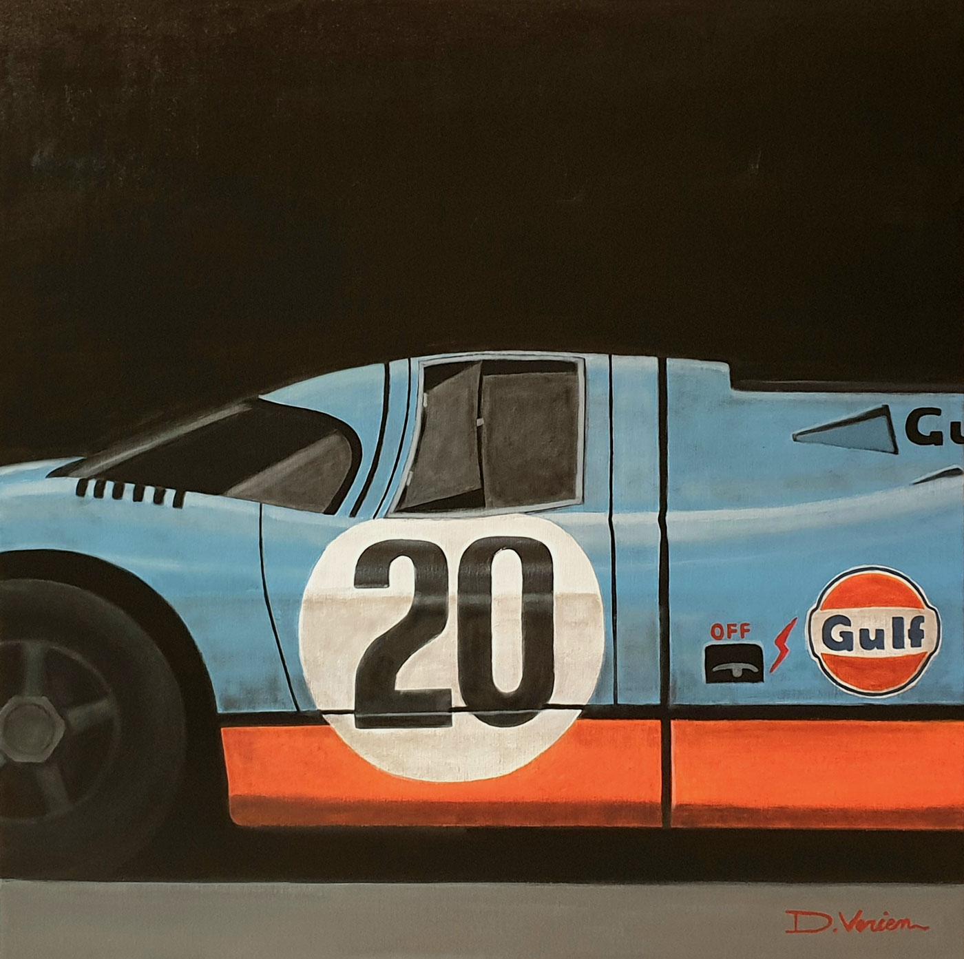 Porsche 917 GULF, 24H du Mans, 1970