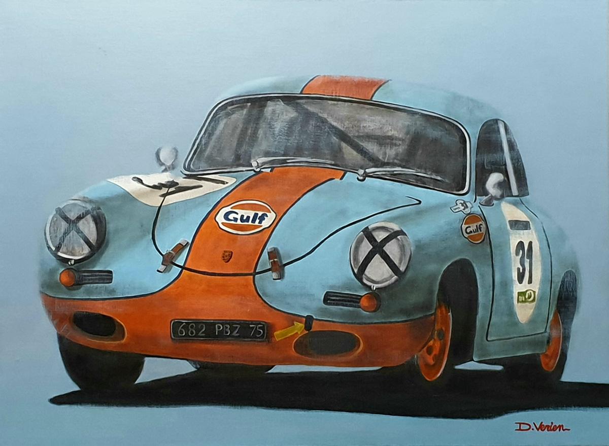 Porsche 365 Gulf