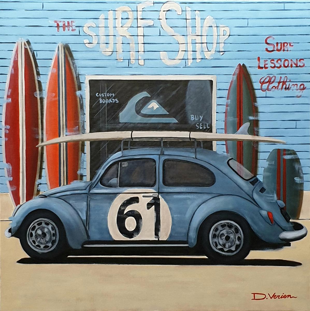 VW Coccinelle 1964 Surf