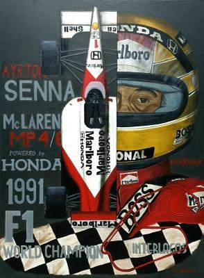 Ayrton Senna McLaren MP4