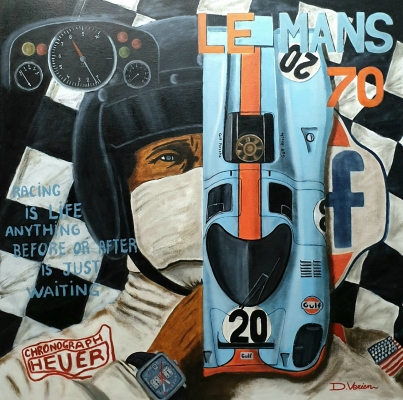 Le Mans 1970 Steve MC Queen Porsche 917