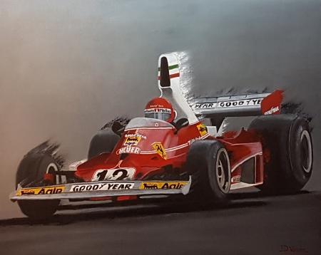 F1 Ferrari - Niki Lauda