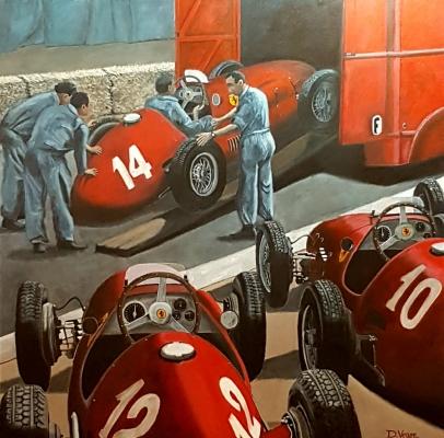 Ferrari F500 GP France 1952