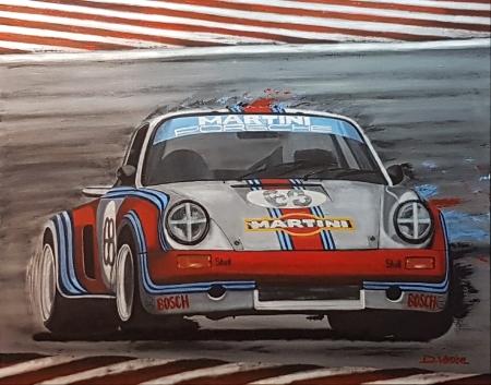 Porsche RSR Martini Racing 1973