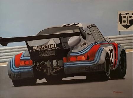 Porsche RSR turbo Le Mans 1974