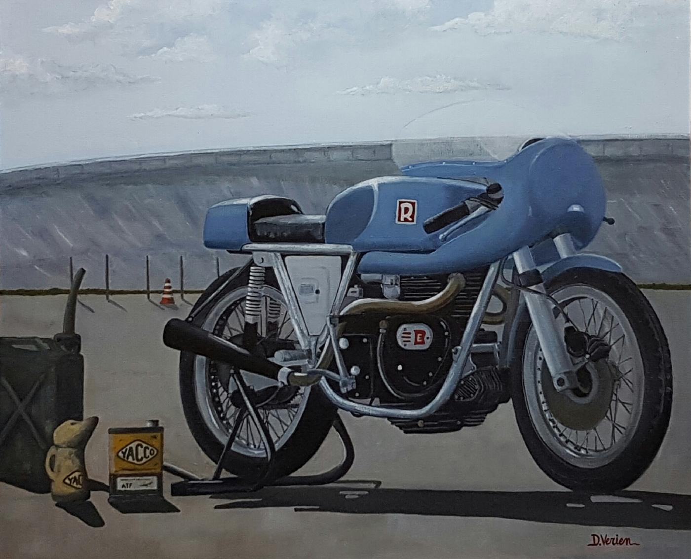 Enfield Rickman - 73x60