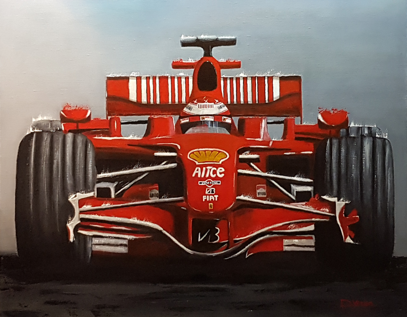 Schumacher ferrari F1 -  92×73