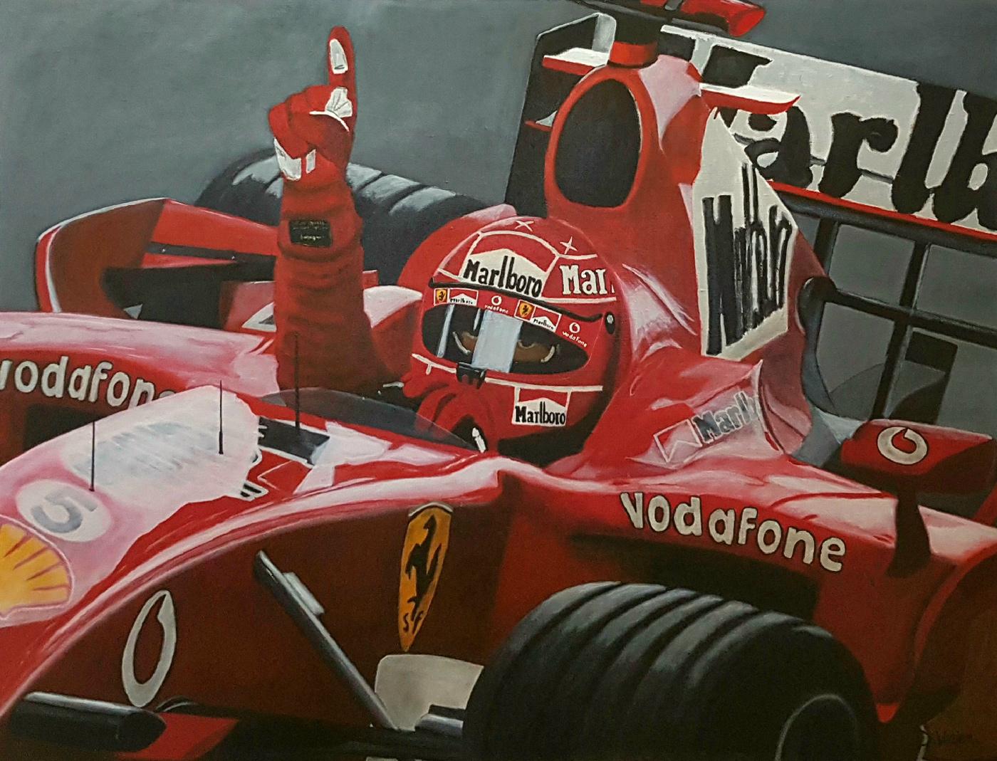 Ferrari Schumacher - Shanghaï 2006