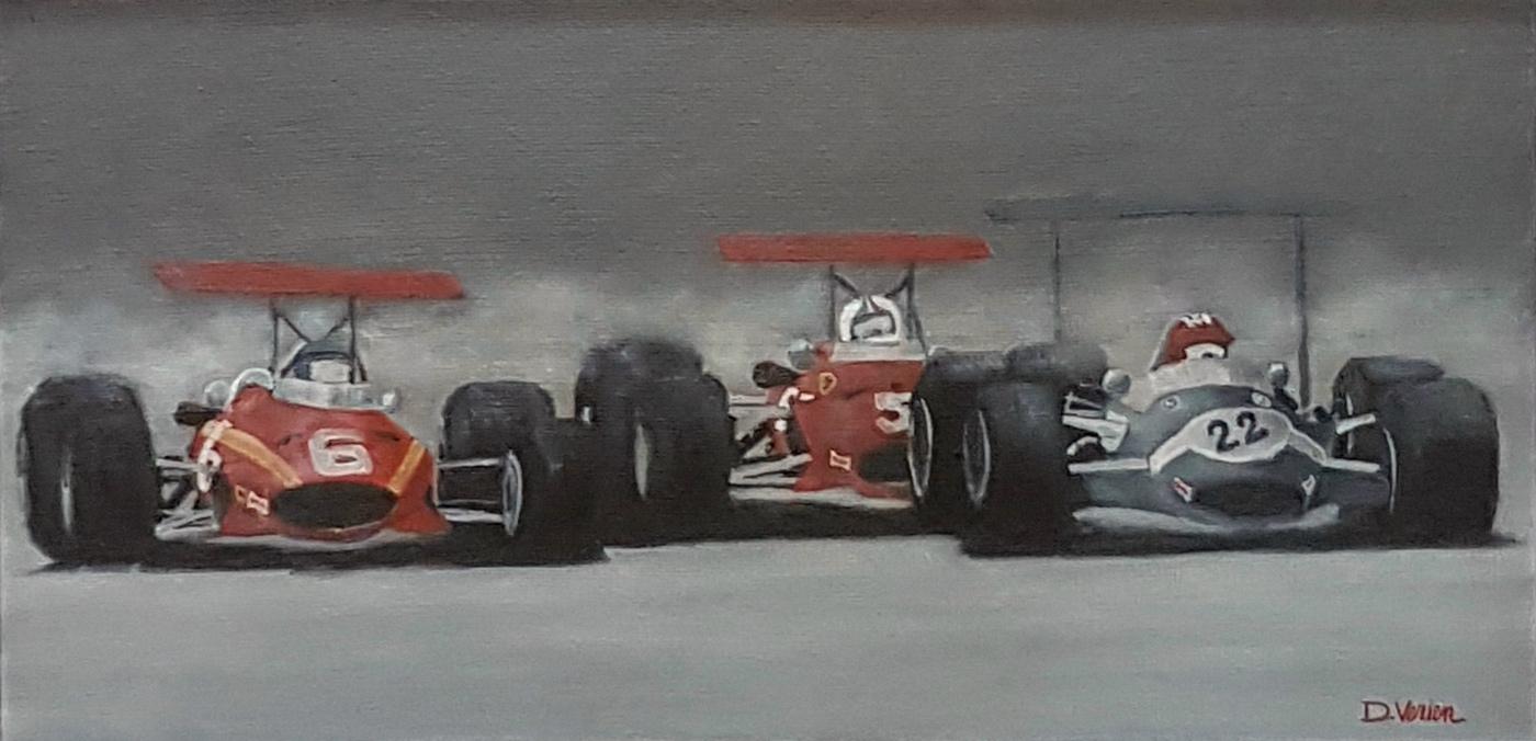 grand prix angleterre 1968 - 60×30