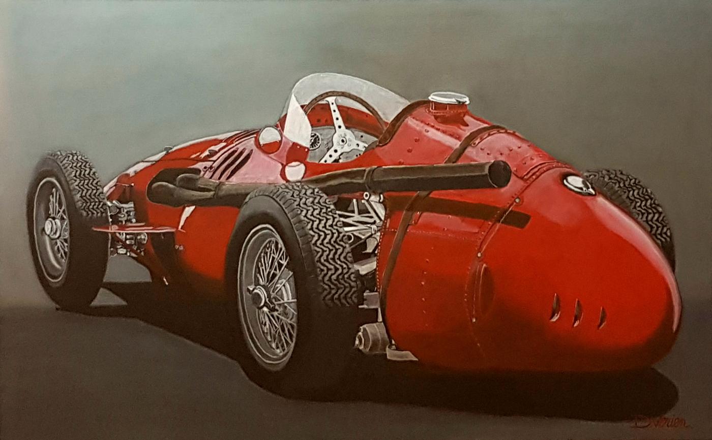 maserati 250f 1957 - 116×73