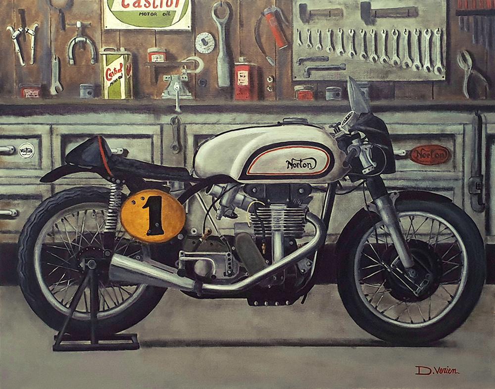 Norton Manx 500 - 1961