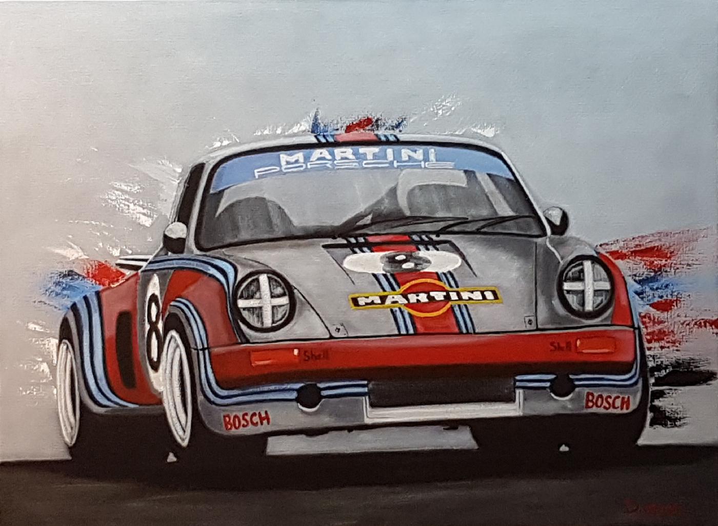 porsche RSR martini racing - 73×54