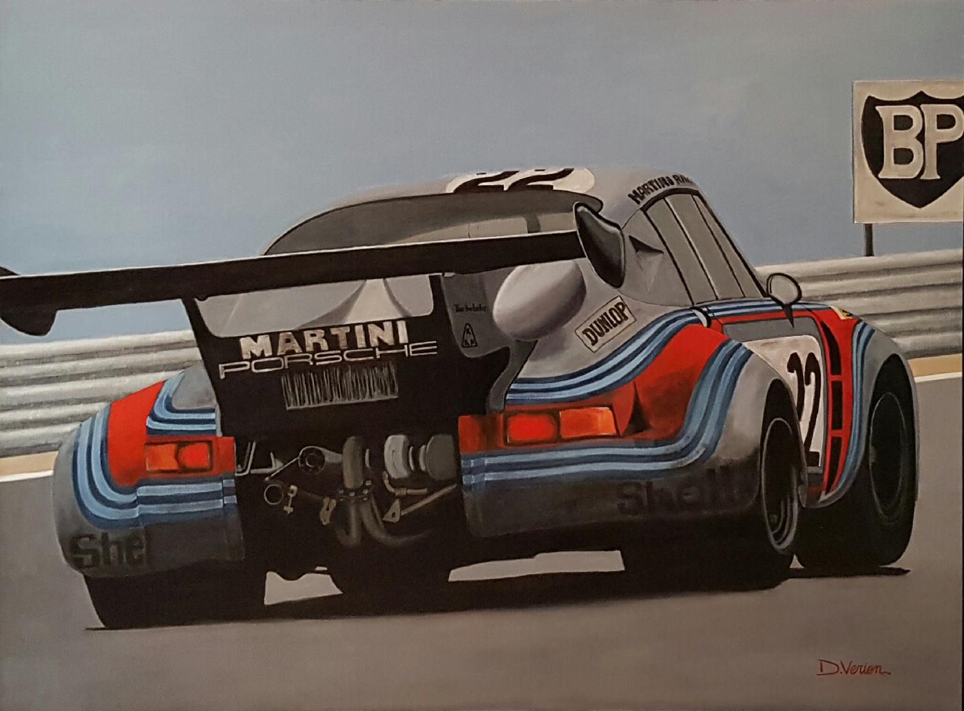 porsche rsr turbo - le mans 1974 - 130×97