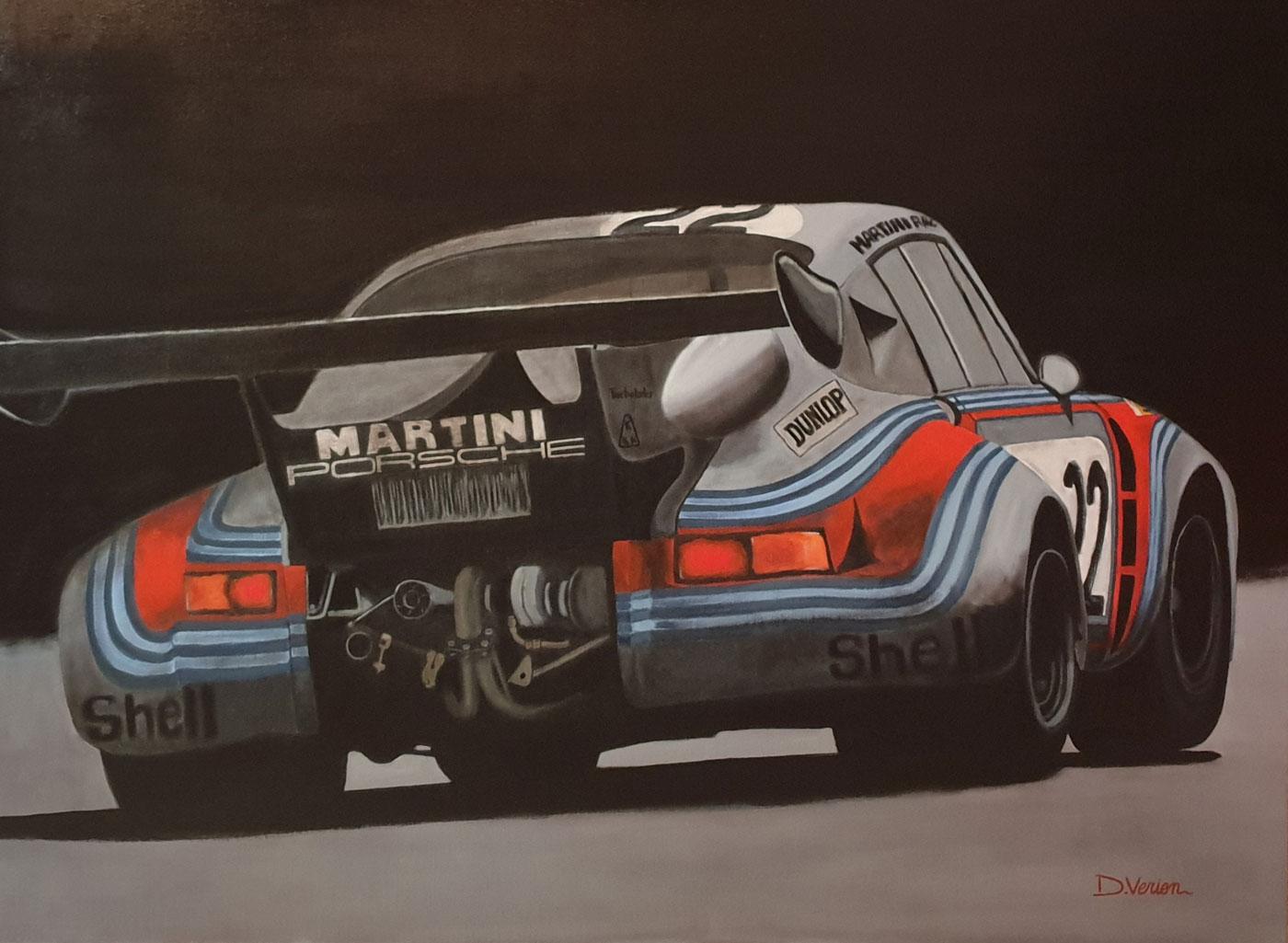 Porsche RSR turbo - le mans 1974