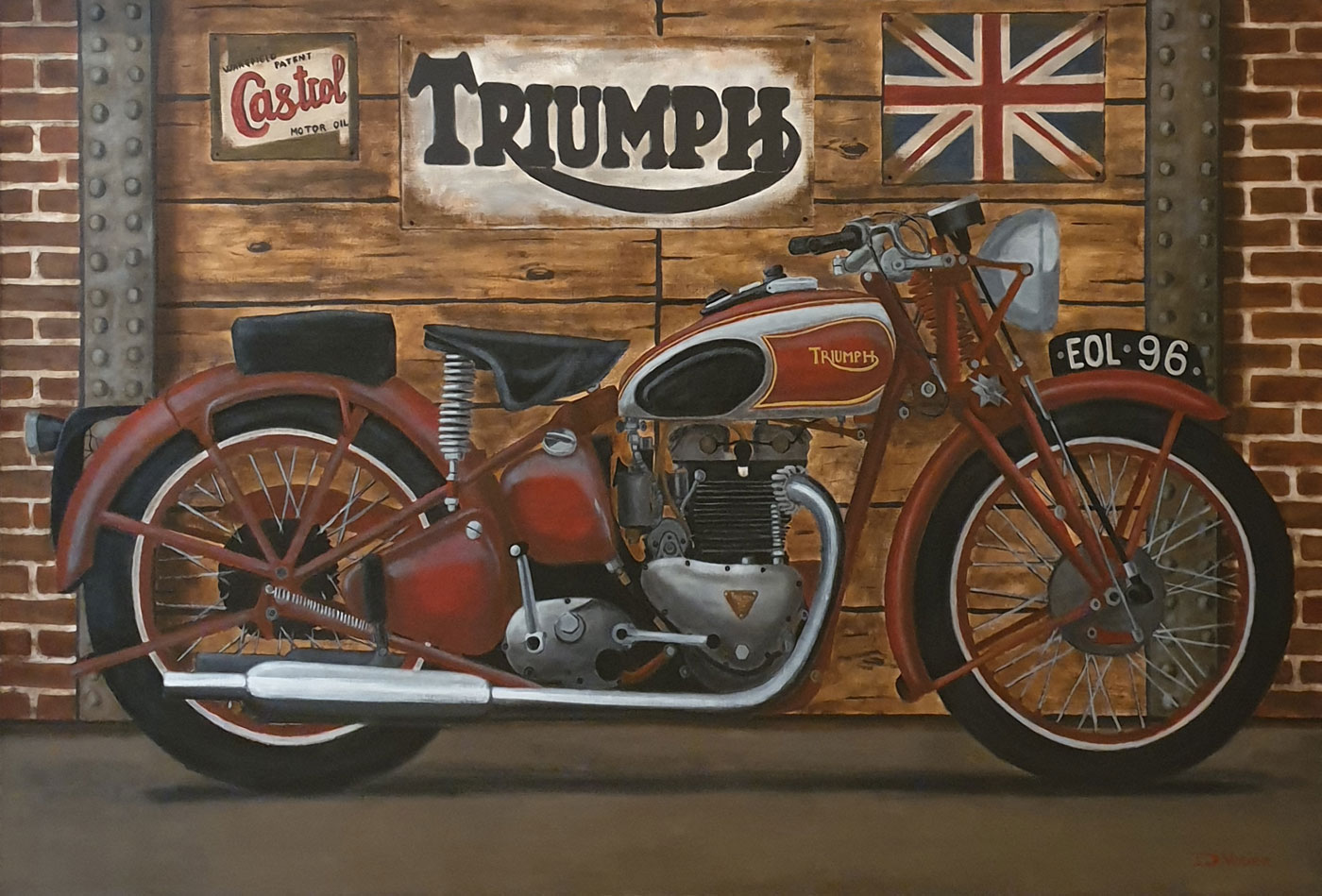 Triumph 500 Speed Twin 1938