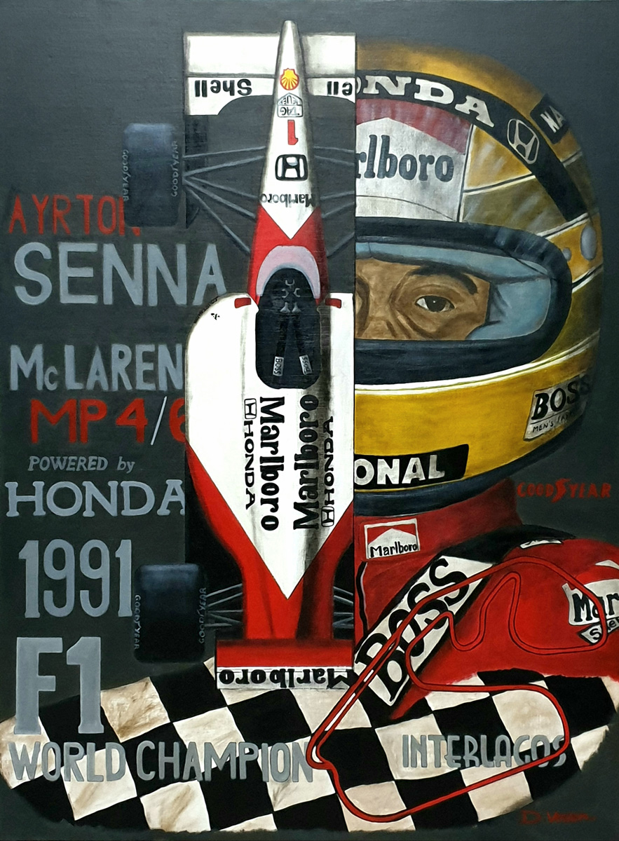 Ayrton Senna, Mc Laren MP4