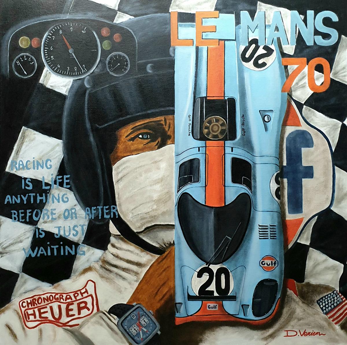 Steve MC Queen, Porsche 917