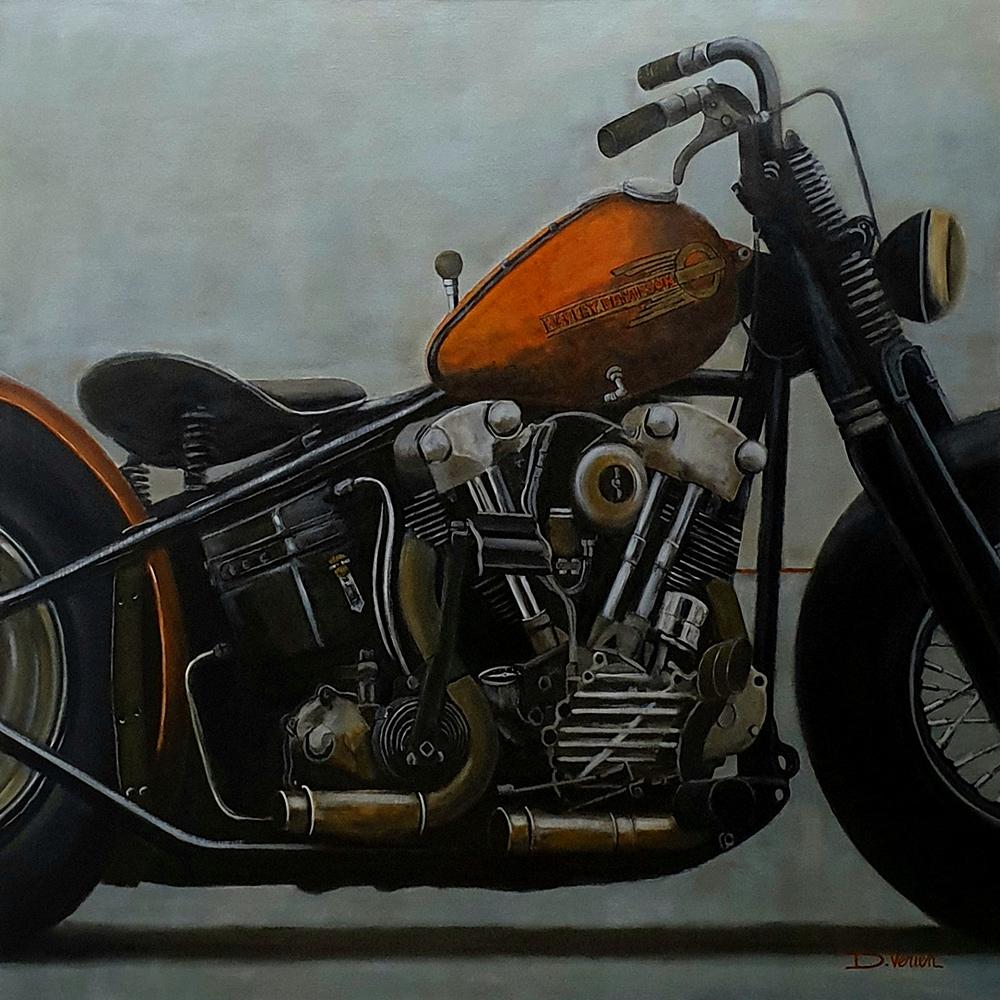 Harley Davidson Knucklehead 1938