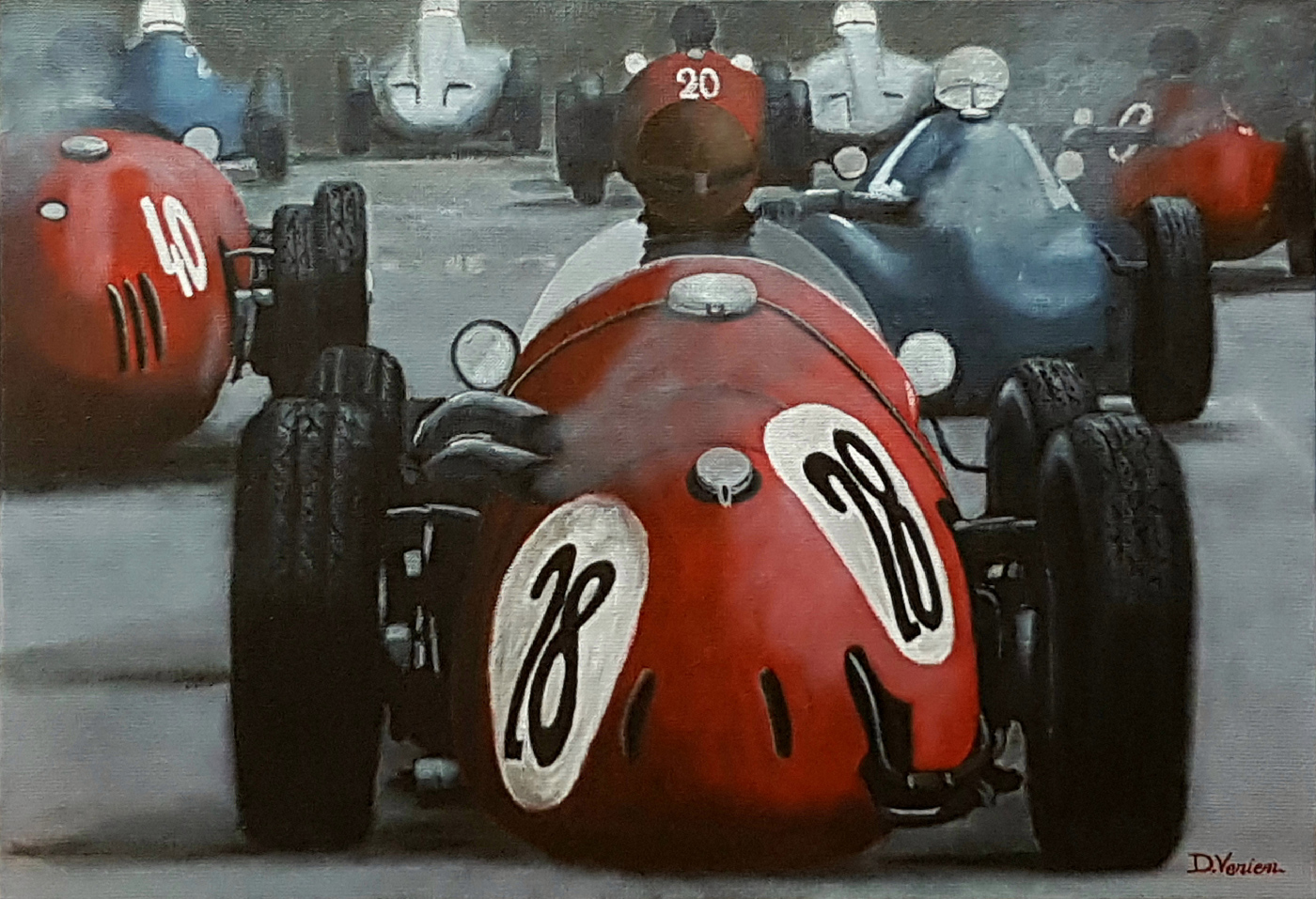 bolides Gallery Race Cars Paintings